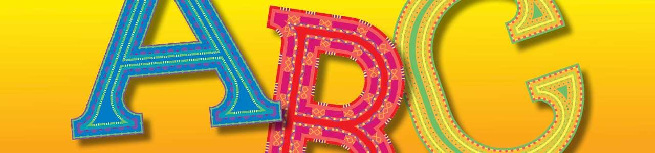 Bild på bokstäverna a, b och c